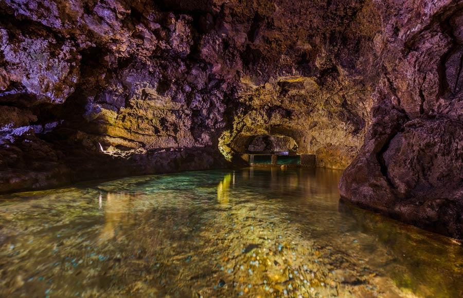Sao Vicente grotten op Madeira