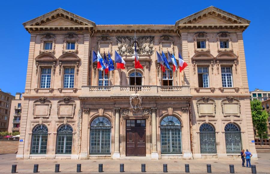 Stadshuis van Marseille