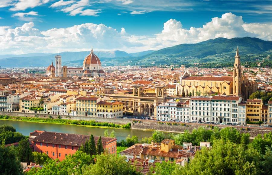 Stedentrip of vakantie naar Florence