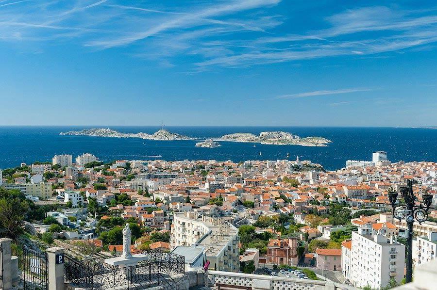 Stedentrip of vakantie naar Marseille