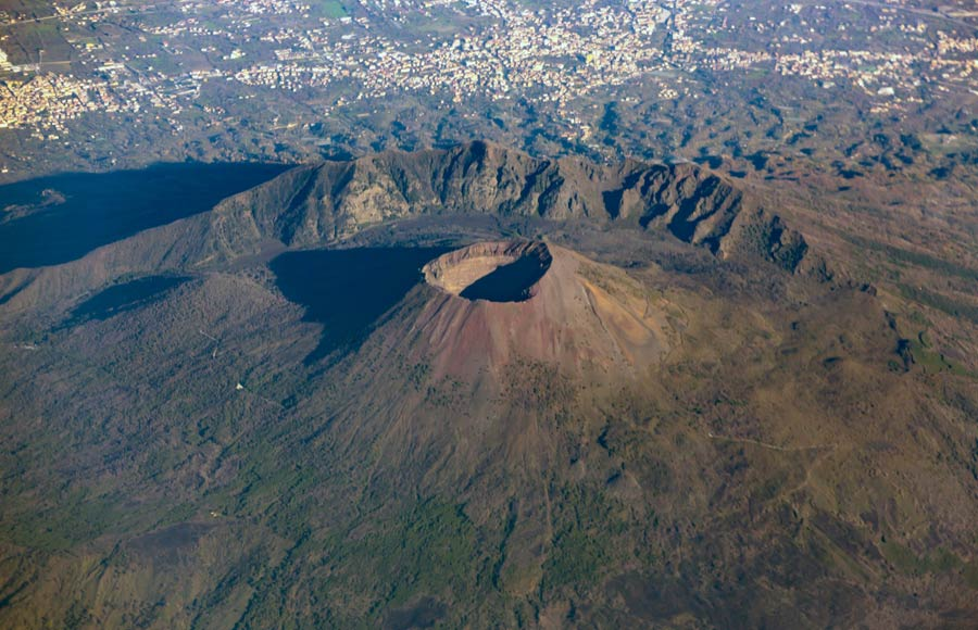 Vulkaan Vesuvius Italië