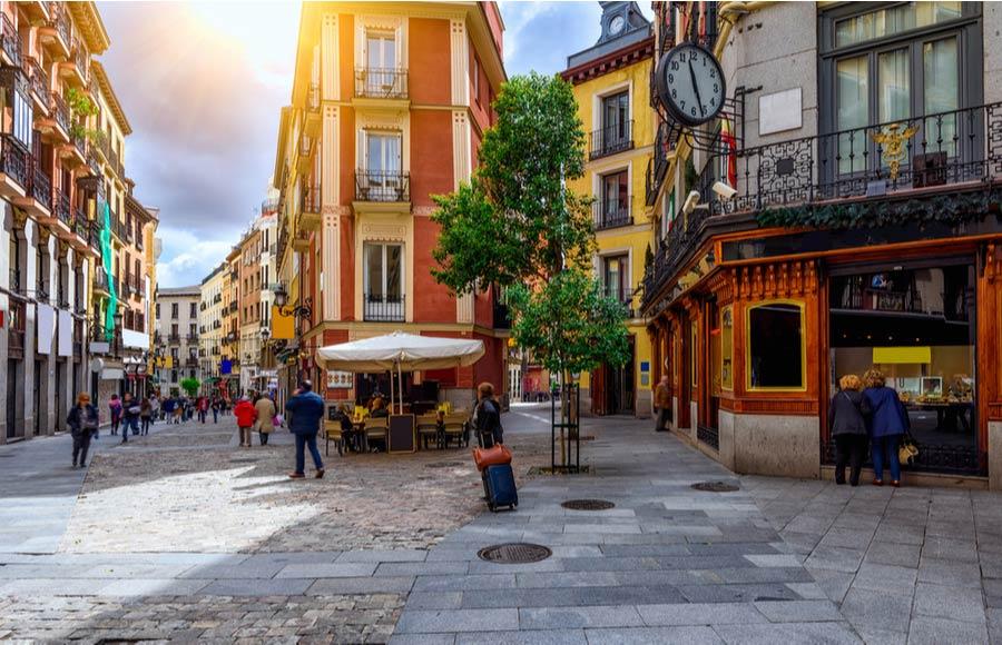 Winkelen centrum Madrid