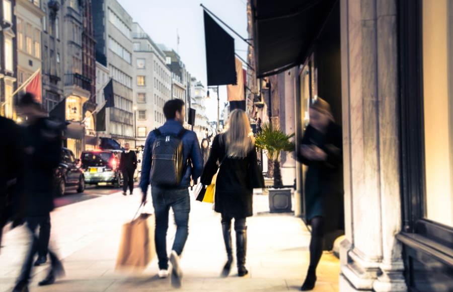 Winkelen Oxford street